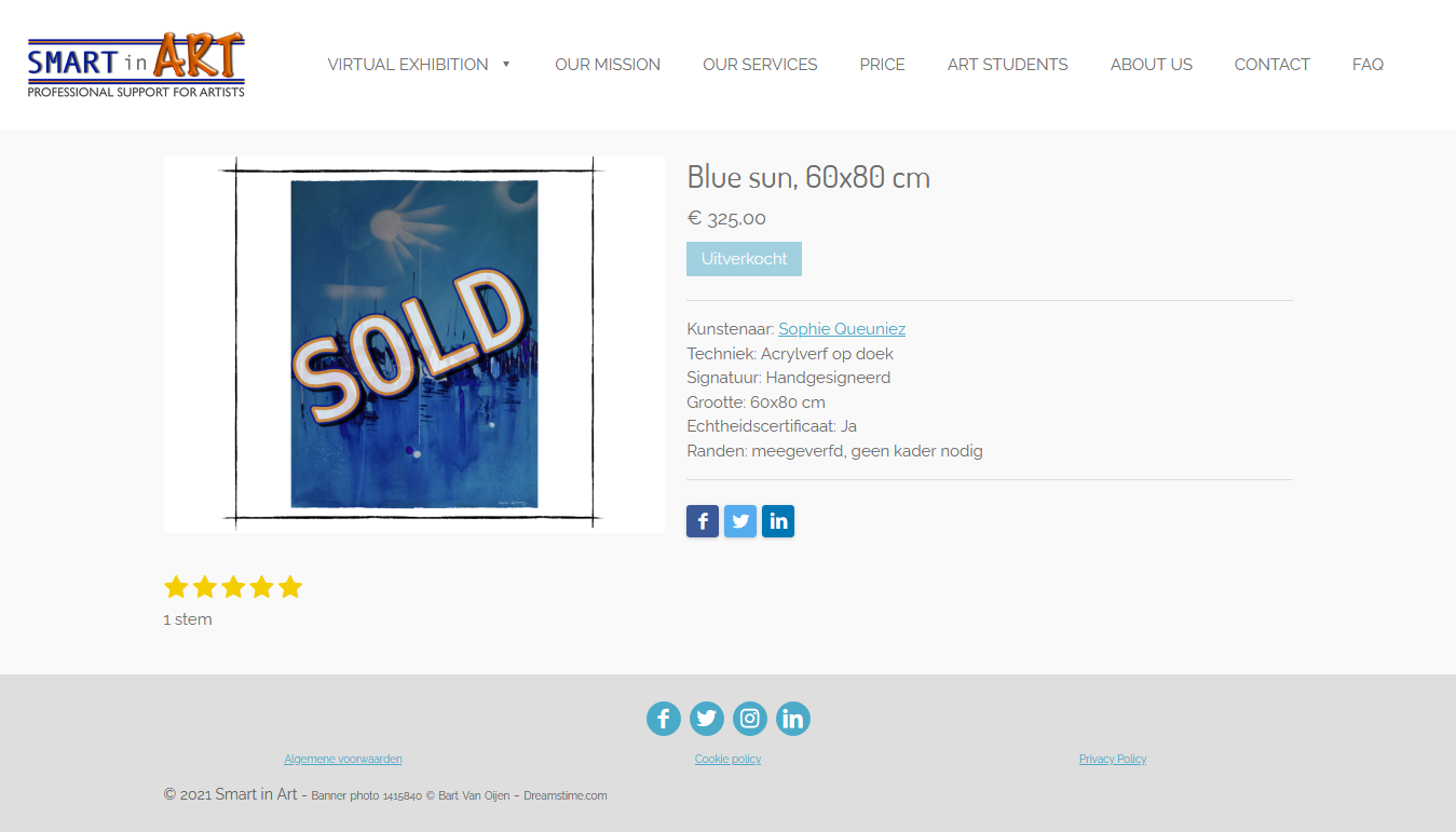 Screenshot 2021 03 02 blue sun 60x80 cm smart in art